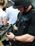 Gwent police open day. Firearms fun for all the family!