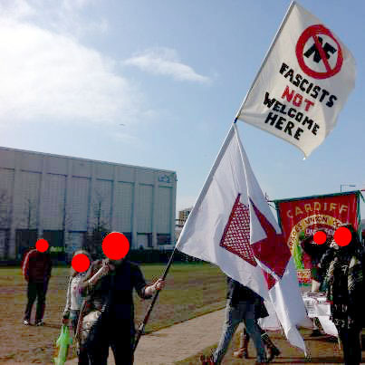 Opposing the NF demo last year