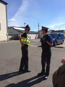 Police harassment in Merthyr